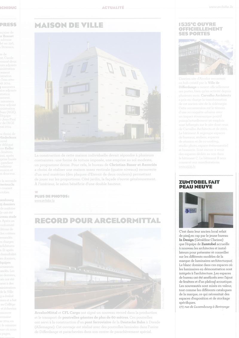 Archiduc Magazine In Design
